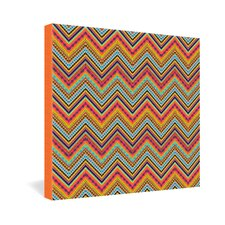 Amy Sia Tribal Chevron Gallery Wrapped Canvas