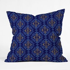 Belle13 Royal Damask Pattern Polyester Throw Pillow