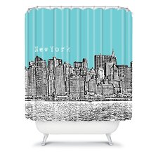 Bird Ave Woven Polyester New York Shower Curtain