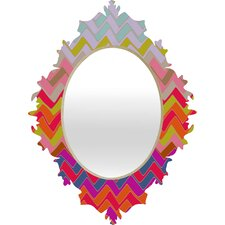 Sharon Turner Geo Chevron Baroque Mirror