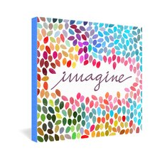 Garima Dhawan Imagine 1 Gallery Wrapped Canvas