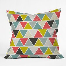 Heather Dutton Triangulum Throw Pillow