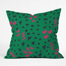 Vy La Animal Love Throw Pillow