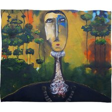 Robin Faye Gates forest for Trees Polyester Fleece Throw Blanket