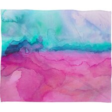 Jacqueline Maldonado Tidal Color Polyester Fleece Throw Blanket