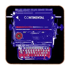 Romi Vega Continental Typewriter Wall Art
