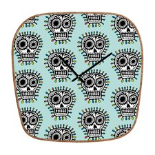 Andi Bird Sugar Skull Fun Clock
