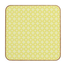 Caroline Okun Yellow Spirals Wall Art