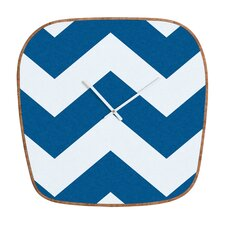 Holli zollinger Chevron Clock