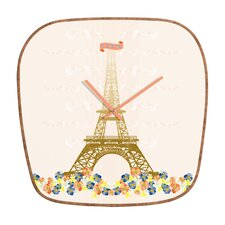Jennifer Hill Paris Eiffel Tower Clock