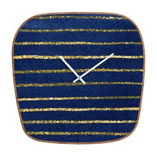 Social Proper Nautical Sparkle Clock