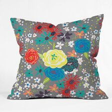 Vy La Bloomimg Love Throw Pillow