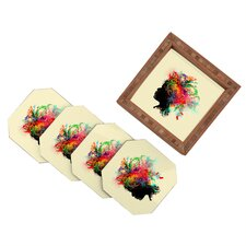 Budi Kwan Wildchild Coaster (Set of 4)