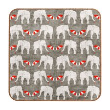 Holli Zollinger Elephant and Umbrella Wall Art