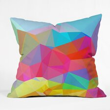 Three of the Possessed Crystal Crush Throw Pillow