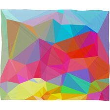 Three of the Possessed Crystal Crush Polyesterr Fleece Throw Blanket