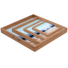 Leah Flores Breathe Square Tray