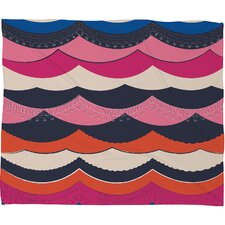 Vy La Unwavering Love Polyesterr Fleece Throw Blanket