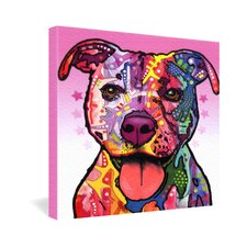 Dean Russo Cherish The Pitbull Gallery Wrapped Canvas