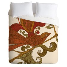 Valentina Ramos The Orange Bird Duvet Cover Collection