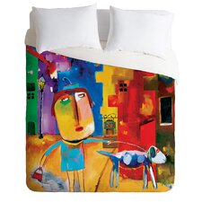 Robin Faye Gates Sylvia Needs Eggs Duvet Cover Collection