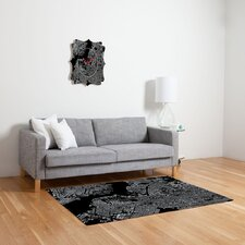 Cityfabric Inc Black Brooklyn Novelty Rug