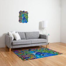 Elizabeth St Hilaire Nelson Cacophony of Color Novelty Rug