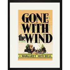 Gone with The Wind by Margaret Mitchell Canvas Wall Art