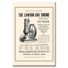 The Lawson Gas Engine Canvas Wall Art