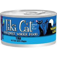 Waikiki Luau Tuna in Rice with Tilapia Cat Food