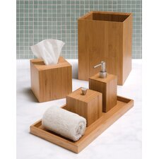 Bamboo Bath and Vanity Set