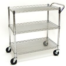 Shelf UltraZinc Commercial Utility Cart