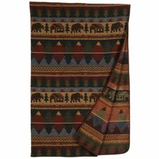 Cabin Bear Throw