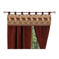 Kodiak Creek Tab Top Tailored Curtain Valance