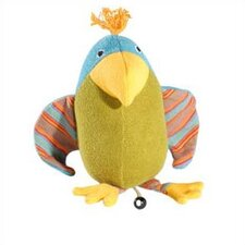 Lana Parrot Organic Stuffed Animal with Music Box