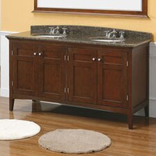 "Vivian 60"" Double Bathroom Vanity Base"