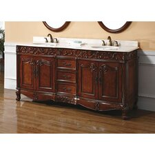 "Baymount 72"" Double Bathroom Vanity Set"