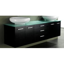 "72"" Berdine Double Bathroom Vanity Set"