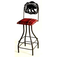 Silhouette Swivel Stool