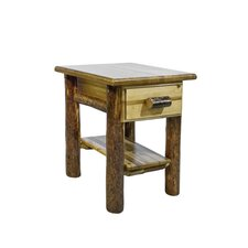 Glacier Country 1 Drawer Nightstand