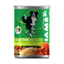 ProActive Health Adult Wet Dog Food with Turkey and Rice (13.2-oz,case of 12)
