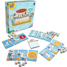 Dice-T Cross Word Game