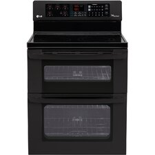 "30"" Freestanding 4-Element Electric Range with Double Oven"
