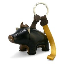 Babu the Boar Key Ring