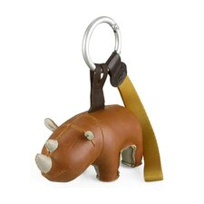Hino the Rhino Key Ring