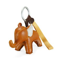 Abby the Elephant Key Ring