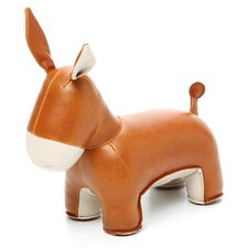 Yale the Donkey Bookend
