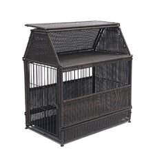 Wicker Roof Top Dog House
