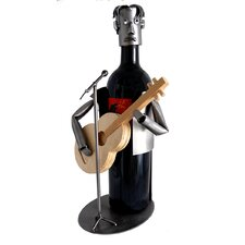 Guitar Player Wine Caddy