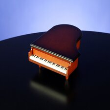 Wooden Piano Ring Box